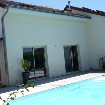 Maison avec piscine à Virey-le-Grand - Dornier immobilier