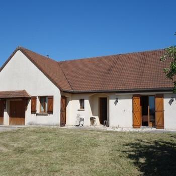Maison plain pied à Châtenoy-en-Bresse - Dornier immobilier